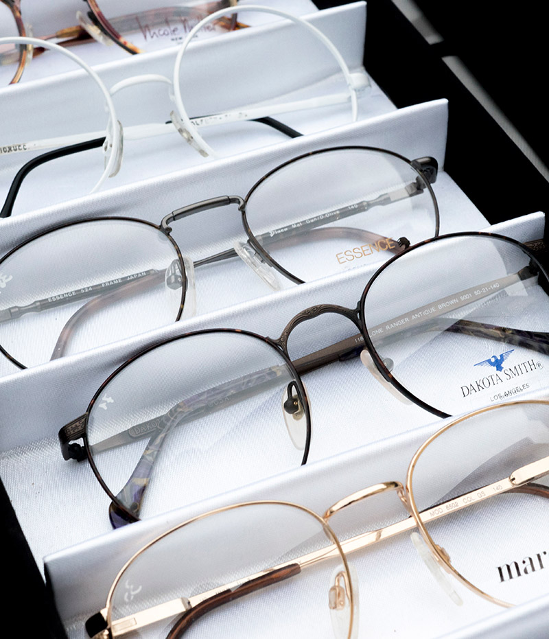 Assorted pairs of glasses image